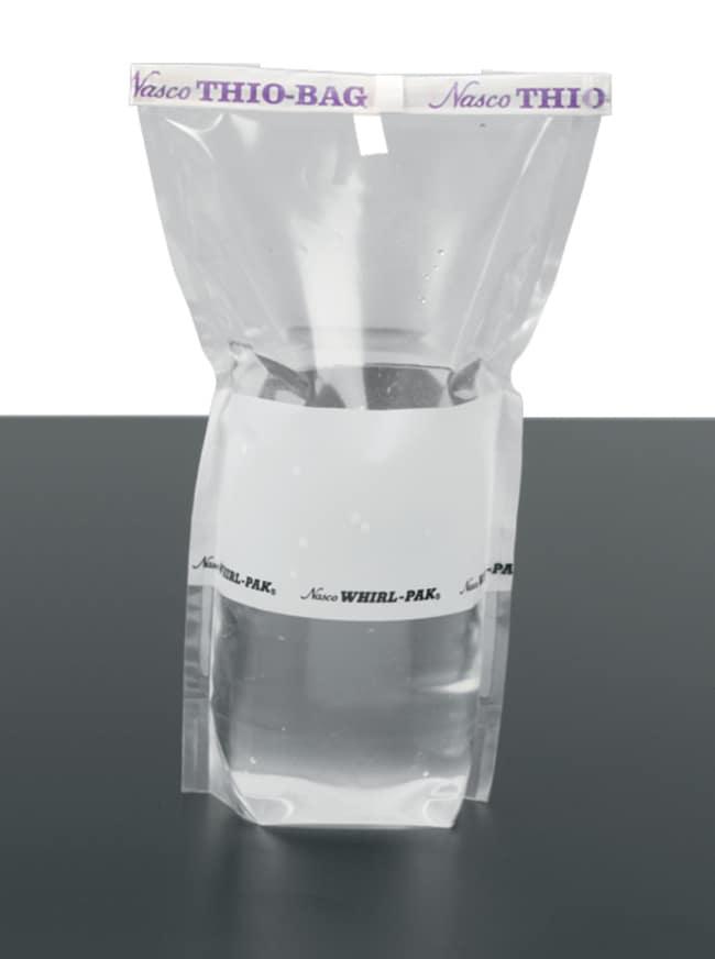 Nasco Whirl-Pak Write-On Stand-Up Thio Sample Bag Capacity: 500mL:Testing