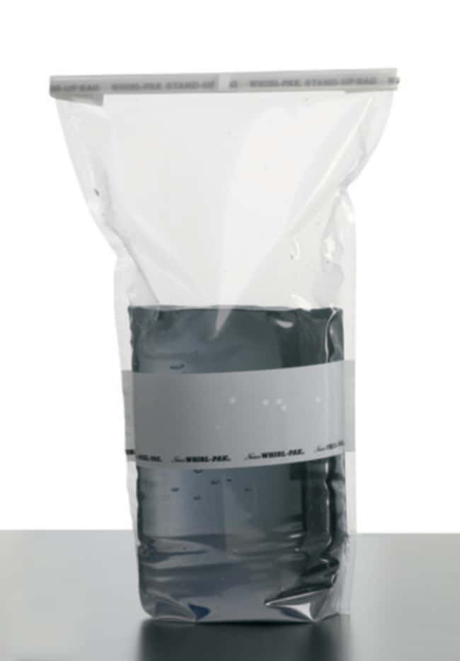 Nasco Whirl-Pak Stand-Up Sample Bags  69 oz. (2041mL):Testing and Filtration