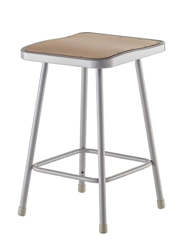 National Public Seating 6300 Series Heavy-Duty Steel Stools  Height: 24