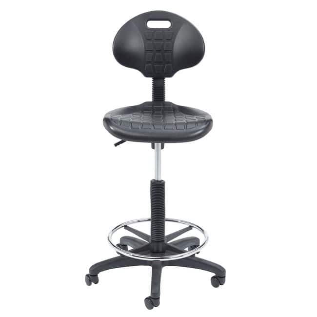 National Public Seating 6700 Series Polyurethane Stool  Armless:Furniture,