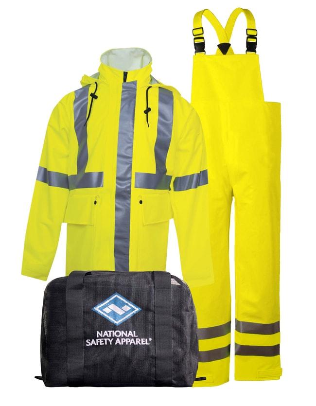National Safety ApparelArc H2O FR Rainwear Kit in Fluorescent Yellow -