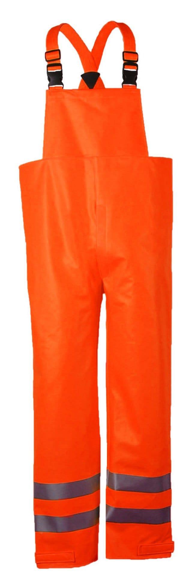 National Safety ApparelArc H2O FR Hi-Vis Orange Bib Overall - Class E Tall:Personal