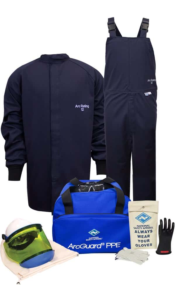 National Safety Apparel12 Cal ArcGuard Arc Flash Kit with Short Coat and