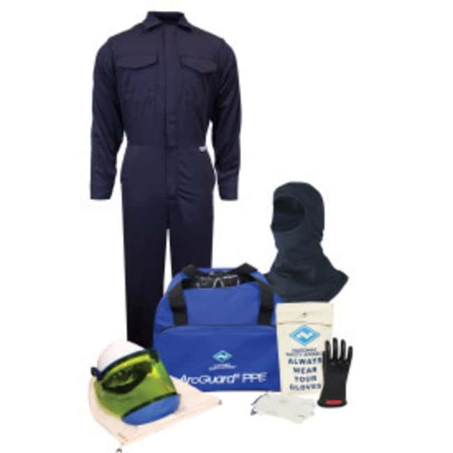 National Safety Apparel8 Cal ArcGuard Arc Flash Kit with FR Coverall with