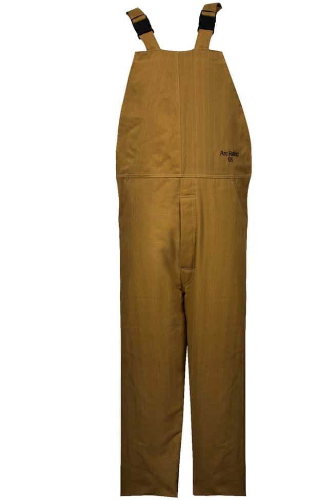 National Safety Apparel65 Cal ArcGuard Nomex/Kevlar Bib Overalls:Personal