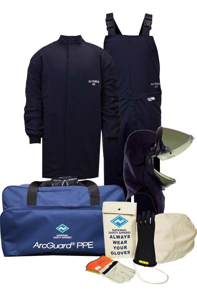 National Safety Apparel40 Cal ArcGuard Compliance Arc Flash Short Coat