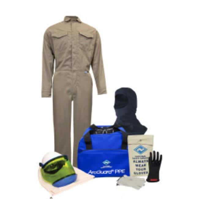 National Safety Apparel8 Cal ArcGuard Protera Arc Flash Kit with FR Coverall