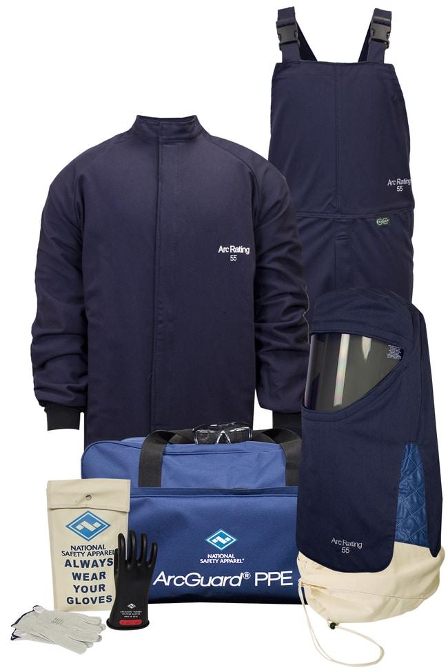 National Safety Apparel55 Cal ArcGuard TECGEN FR Arc Flash Kit with Gloves