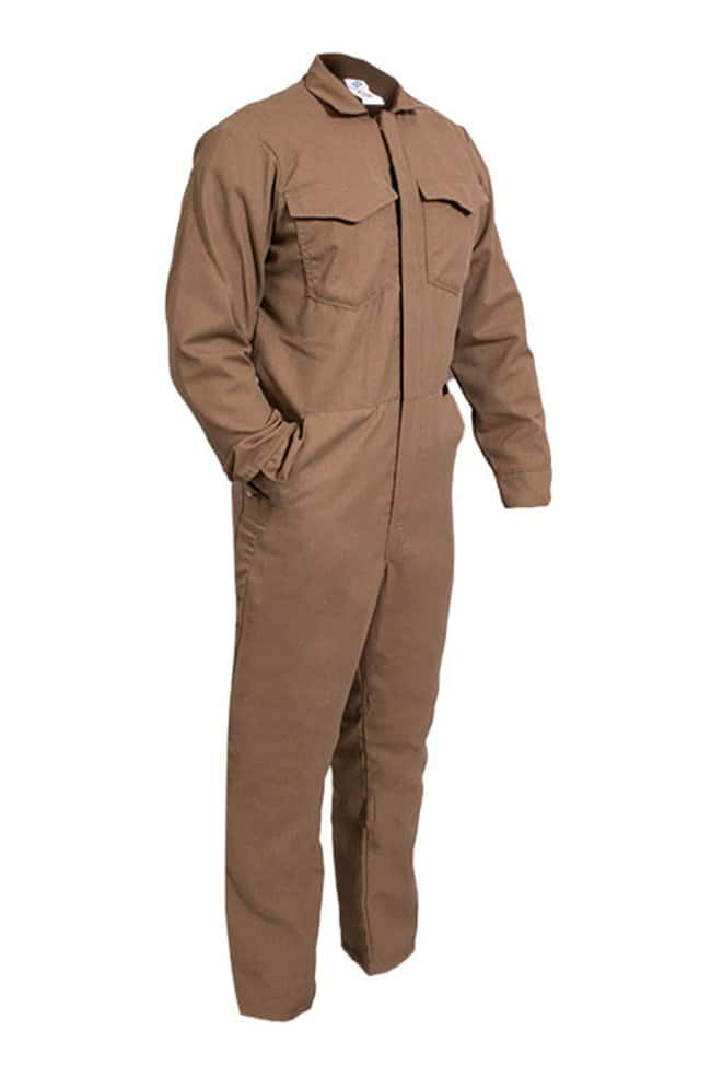 National Safety Apparel8 Cal UltraSoft Khaki Coverall 32 in. Inseam
