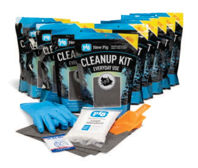 New PigPIG Everyday Use Cleanup Kit 10.97 L:Facility Safety and Maintenance