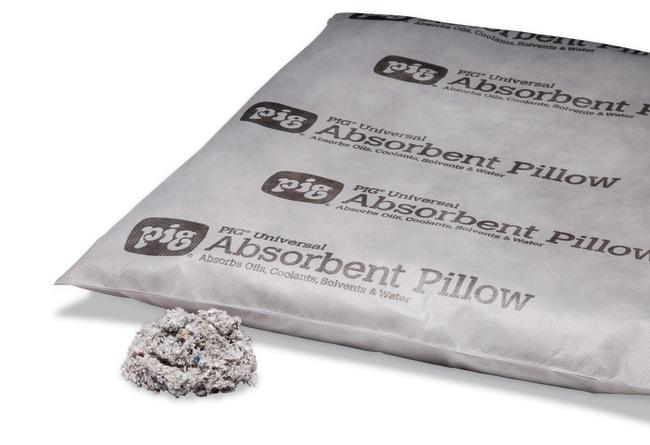 New PigAbsorbent Pillows Light gray; Size (L X W x H): 53.3 x 43.2 x 5.1cm