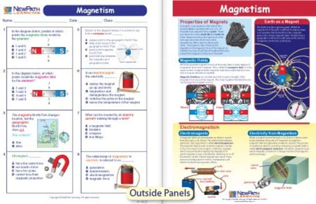 NewPath Learning Magnetism Visual Learning Guide  For Grades 6, 7, 8 and