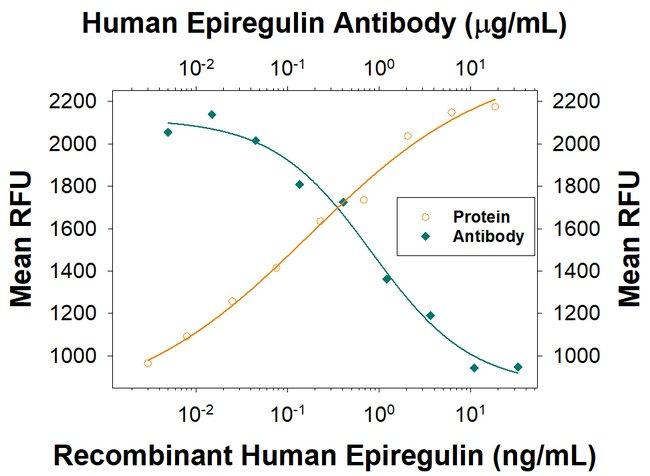 Epiregulin, Mouse anti-Human, Clone: 870110, R:Antibodies:Primary Antibodies