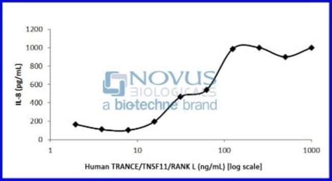 Novus Biologicals Recombinant Human TRANCE/TNFSF11/RANK L Animal-Free Protein