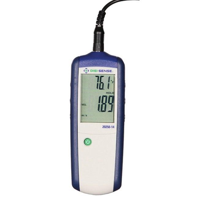 Digi-SensePrecalibrated CFM/CMM Vane Thermoanemometer:Flow Analysis