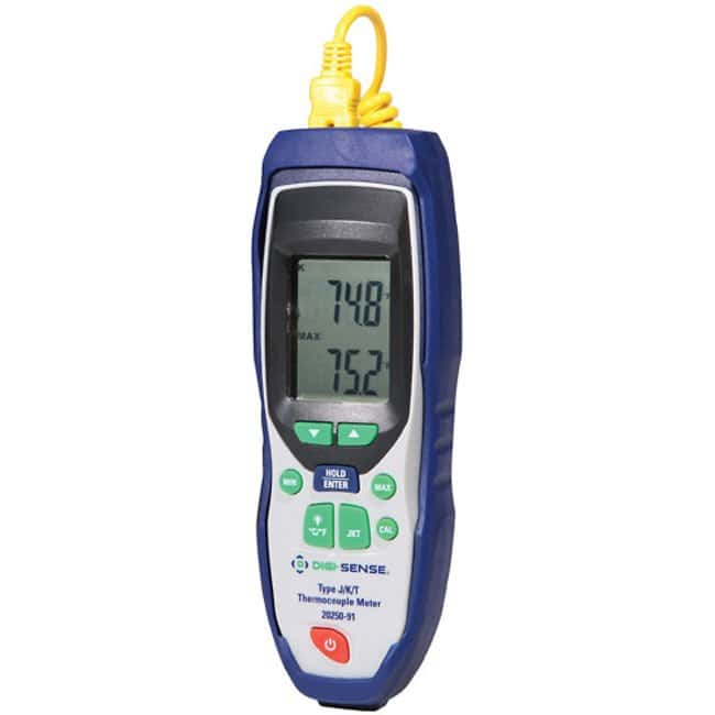 Digi-Sense Advanced Precalibrated Thermocouple Thermometers:Workspace Essentials