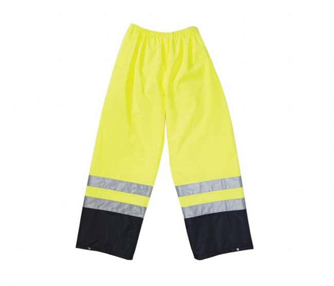 OccuNomix High-Viz Rain Pants Pants; Yellow; 5X:Gloves, Glasses and Safety