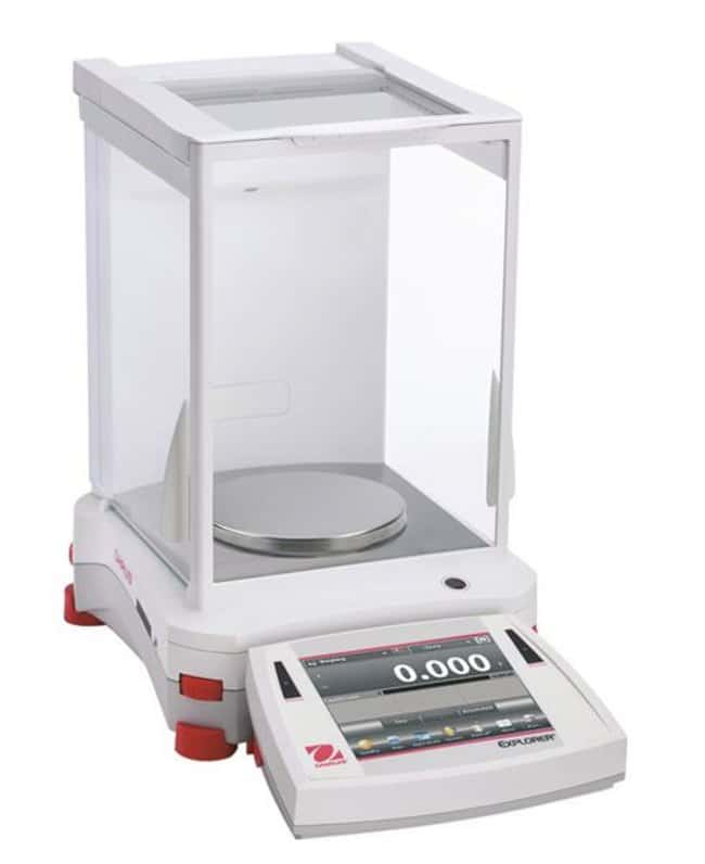 OHAUS™ Explorer™ Series Precision Balances 1100g x 0.001g; with Draftshield OHAUS™ Explorer™ Series Precision Balances