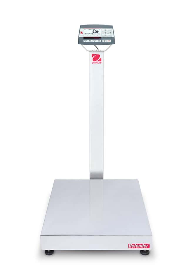 Ohaus™Defender 5000 Bench Scales, 24 x 31.5 Inch Platform, Painted Steel Column