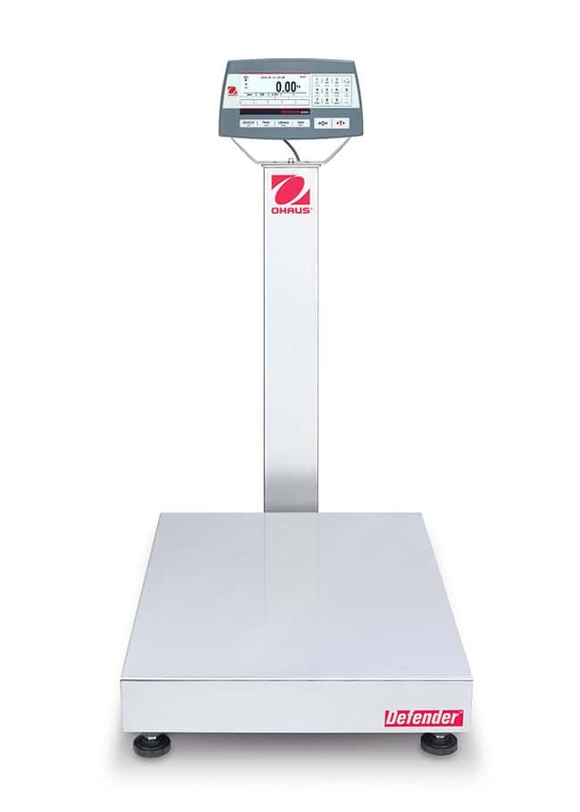 Ohaus™ Defender 5000 Bench Scales, 18 x 24 Inch Platform, Painted Steel Column