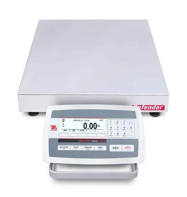 Ohaus™Defender 5000 Bench Scales, 18 x 18 Inch Platform
