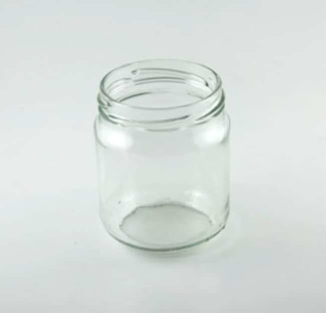 Parisienne De Verrerie™Tarro redondo giratorio de vidrio blanco lima sodada, sin tapa Capacidad: 280ml Parisienne De Verrerie™Tarro redondo giratorio de vidrio blanco lima sodada, sin tapa