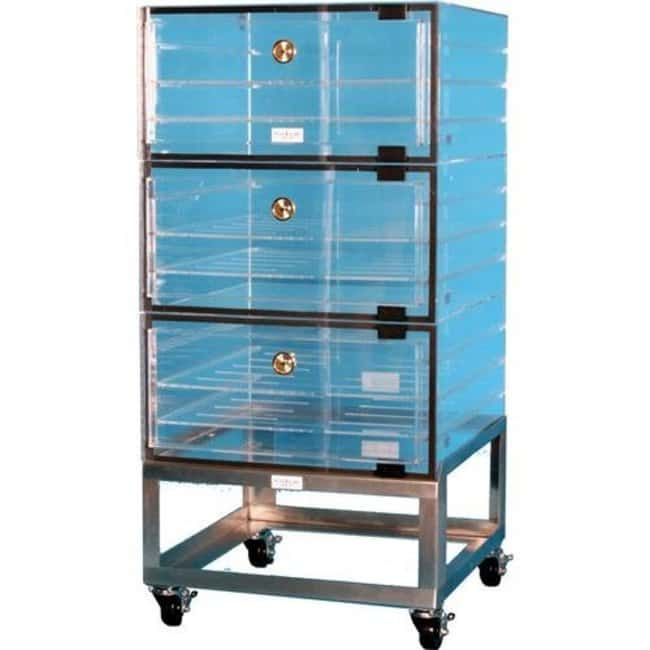 Plas Labs Multiple Cubicle Clear Acrylic Desiccator without Plenum With