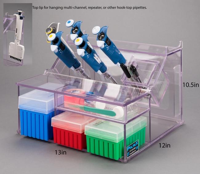 Poltex Pipette/Tip/Storage Holder (PETG) Pipette/Tip/Storage Holder (PETG):Pipets,