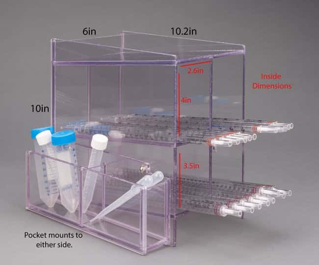 Poltex Blood Tube Rack/Carrier:Racks, Boxes, Labeling and Tape:Racks