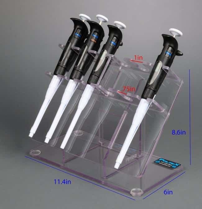 Poltex 6-Position Pipette Rack pipette organizer:Pipets, Pipettes and Pipette