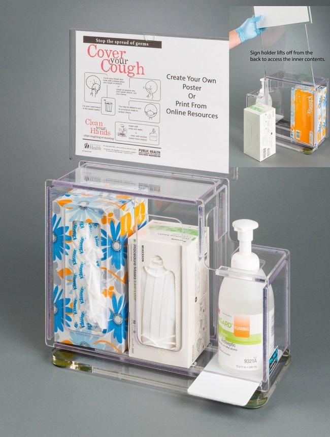 PoltexRespiratory Hygiene Station G Countertop:Furniture