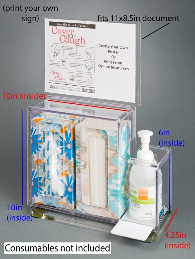 PoltexRespiratory Hygiene Station G:Furniture:Desks and Tables