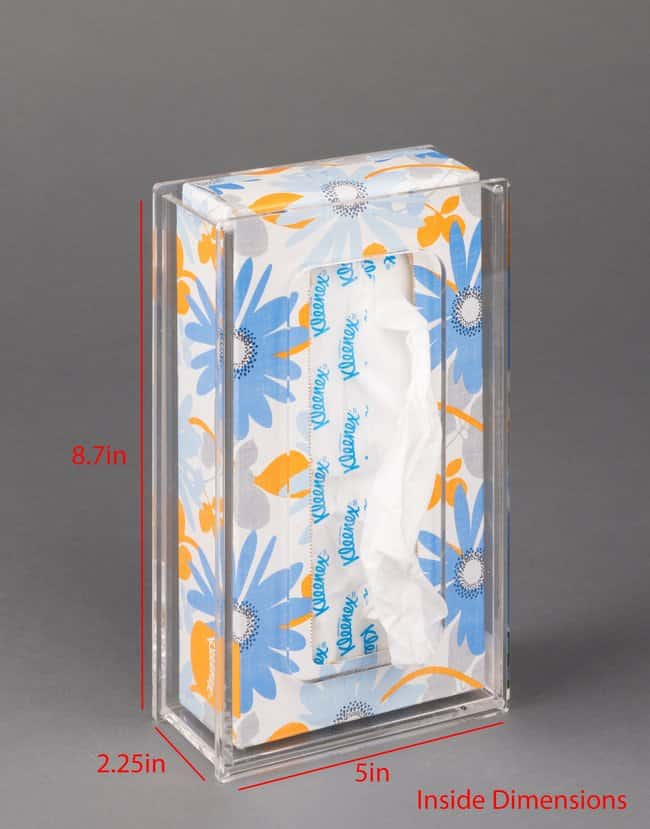 PoltexTissue Box Holder-2.2D:Personal Protective Equipment:Safety Clothing
