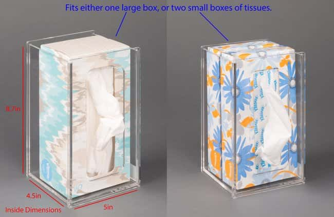 PoltexTissue Box Holder-4.5D:Personal Protective Equipment:Safety Clothing