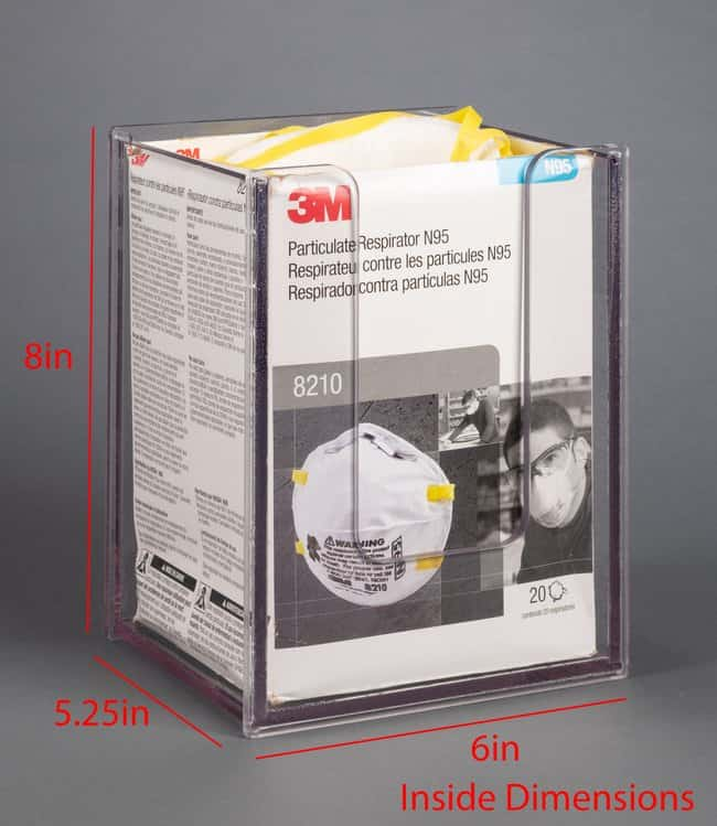 PoltexLocking N95 Mask Dispenser:Personal Protective Equipment:Safety Clothing