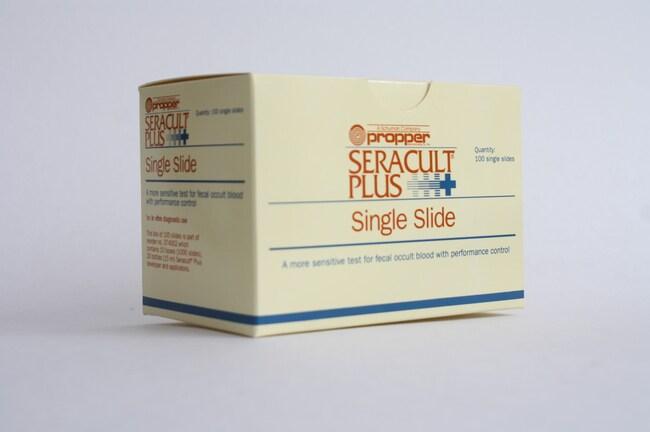 PropperSingle Slides For Seracult Plus Fecal Occult Blood Test:Blood, Hematology