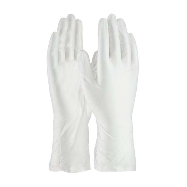 PIPCleanTeam 12 in. Class 10 Cleanroom Vinyl Gloves:Personal Protective
