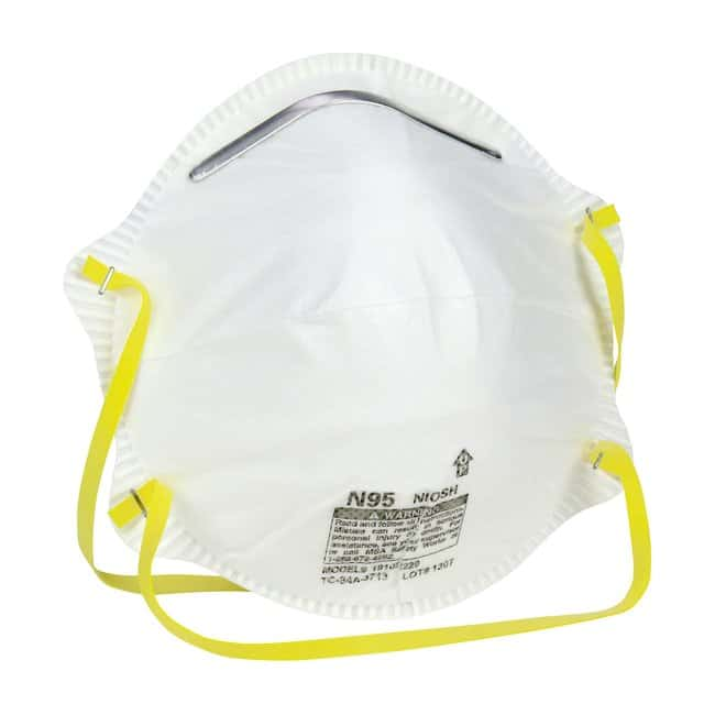 PIP N95 Disposable Respirator 20 pack:Gloves, Glasses and Safety