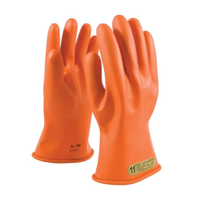 PIP Class 00 Rubber Insulating Glove Orange; 11 in.