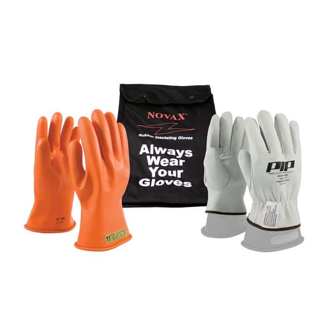 PIPNOVAX Class 00 Electrical Safety Gloves Kit:Personal Protective Equipment:Hand