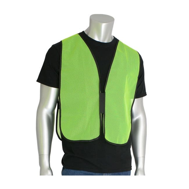 PIP Hi-Vis Vests Color: Yellow:Gloves, Glasses and Safety