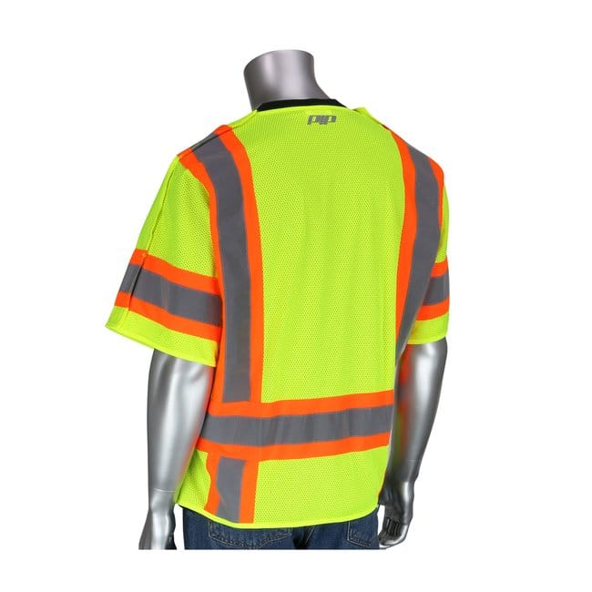 PIPANSI Type R Class 3 Two-Tone Breakaway Vest:Personal Protective Equipment:Safety