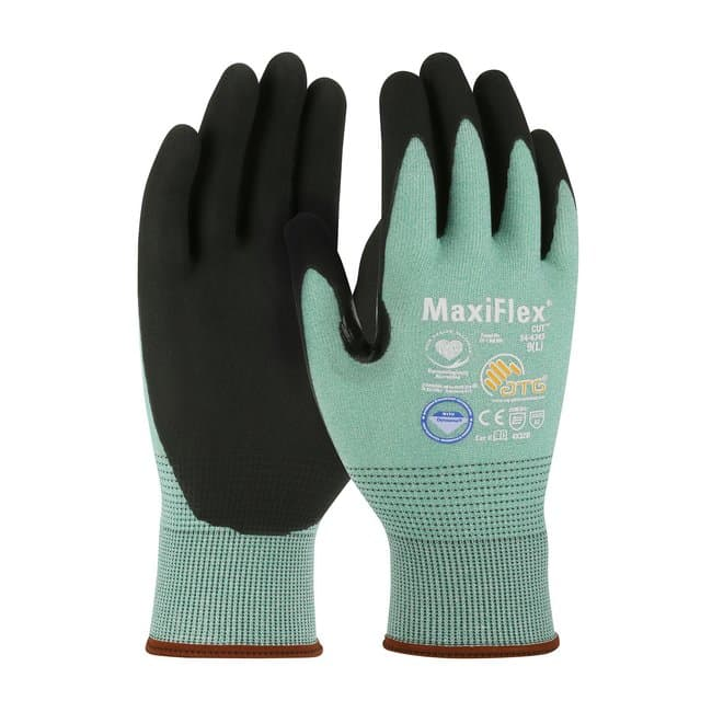 PIP MaxiFlex Cut Dyneema Diamond Blended Glove with Nitrile Grip M