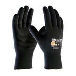 Details about  /Pair  Palm Coated Nylon Precision Protective Safety Work Gloves