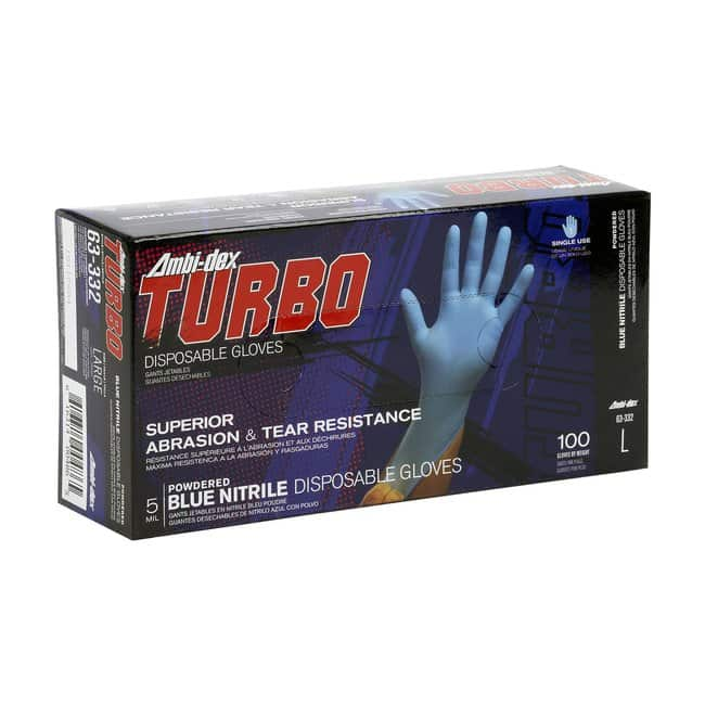 PIP Powdered Nitrile Glove with Textured Grip XL