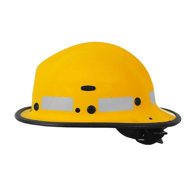 PIP Brush Fire Helmet with ESS Goggle Mounts Yellow:First Responder Products