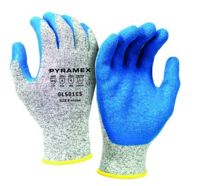 Pyramex Safety ProductsGL501C5 Crinkle Latex-Coated HPPE Gloves:Personal