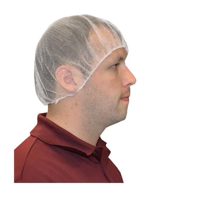 West Chester White Nylon Hair Net:Testing and Filtration:Food and Beverage