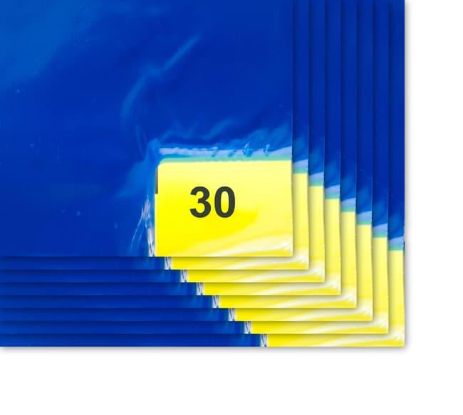 PURUS™Tappetini per il controllo dei contaminanti a 30 strati EnviroTack™ Blu; 36 x 45 poll.; 1,4 mil; 8/confezione PURUS™Tappetini per il controllo dei contaminanti a 30 strati EnviroTack™