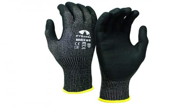 Pyramex Safety Products CorXcel Micro-Foam Nitrile Gloves with HPPE Liner
